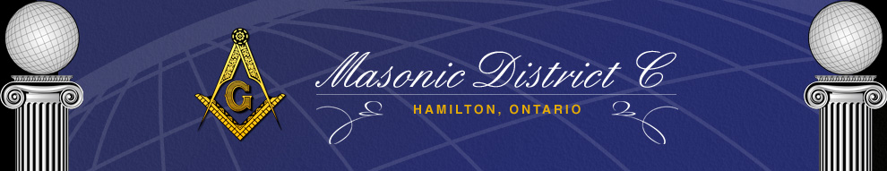 District Newsletter - Masonic District C - Hamilton, Ontario